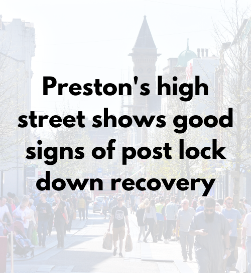 High Street Shows Recovery