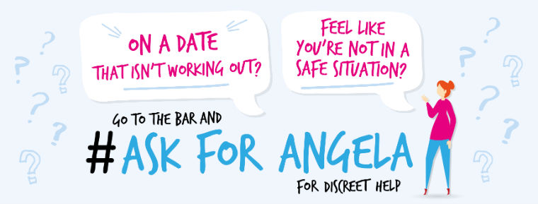 'ASK FOR ANGELA'